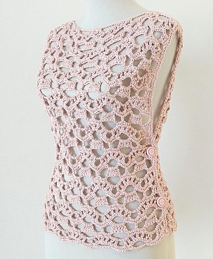 Cómo Tejer Blusa A Crochet Con 2 Rectángulos Handwork Diy